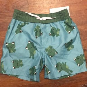 New Gymboree 6/12 month Swim Trunks ~ A52